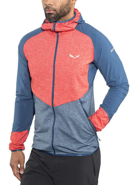 Salewa Agner Cordura 2 PL Jacket Men red/blue